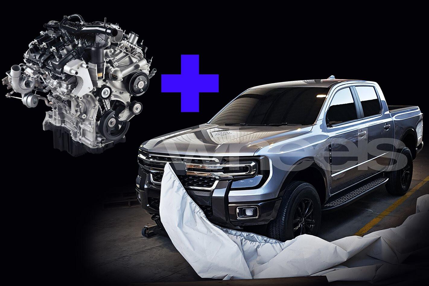 2021 Ford Ranger Engine Main Jpg