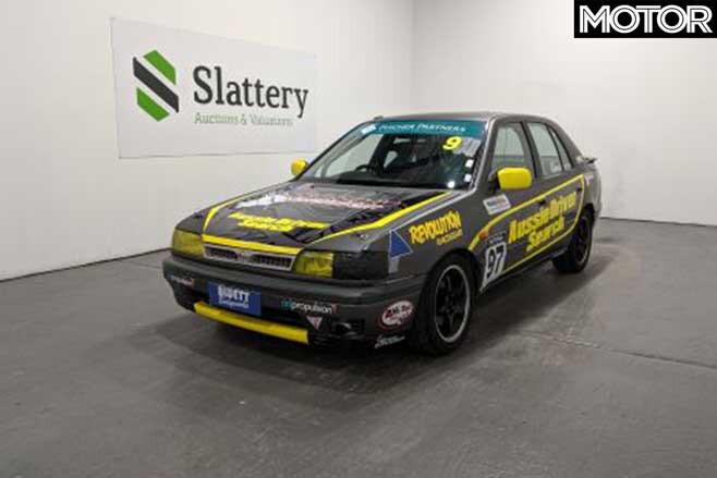 Aussie Driver Search Race Cars Auction Nissan Pulsar Jpg