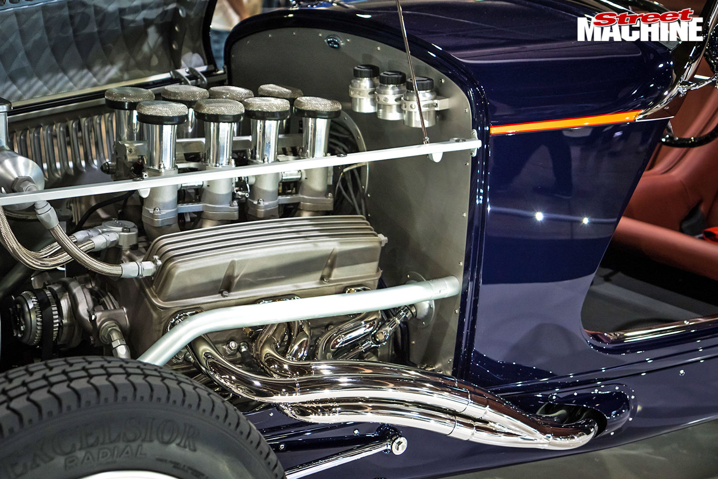 1931 Ford Martin Special Chevy small-block engine
