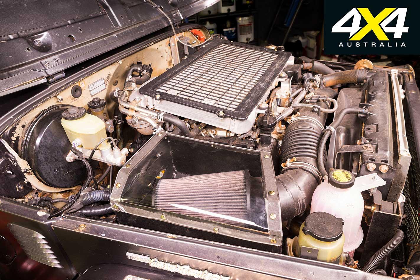 Custom Toyota Land Cruiser BJ 40 Engine Jpg