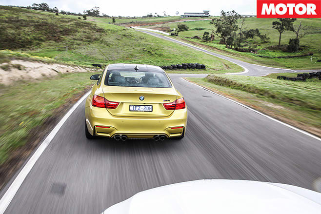 Mercedes -AMG-C63-S-Coupe -vs -BMW-M4-Competition -racing -2