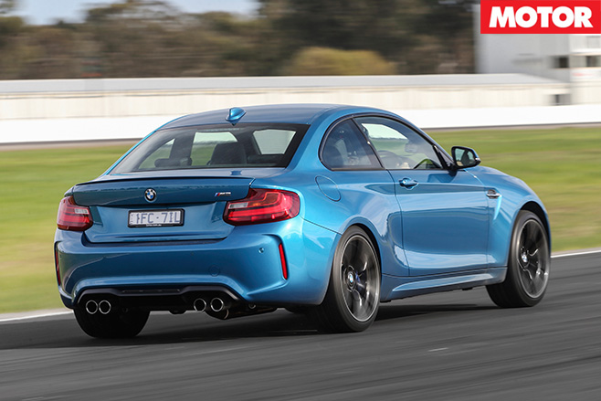 BMW M2 Pure rear driving