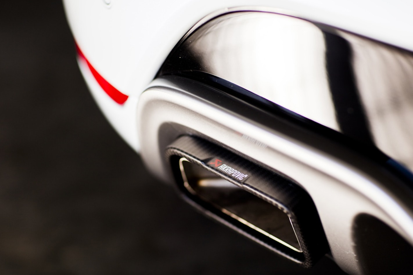 2018 Renault Clio RS Trophy exhaust