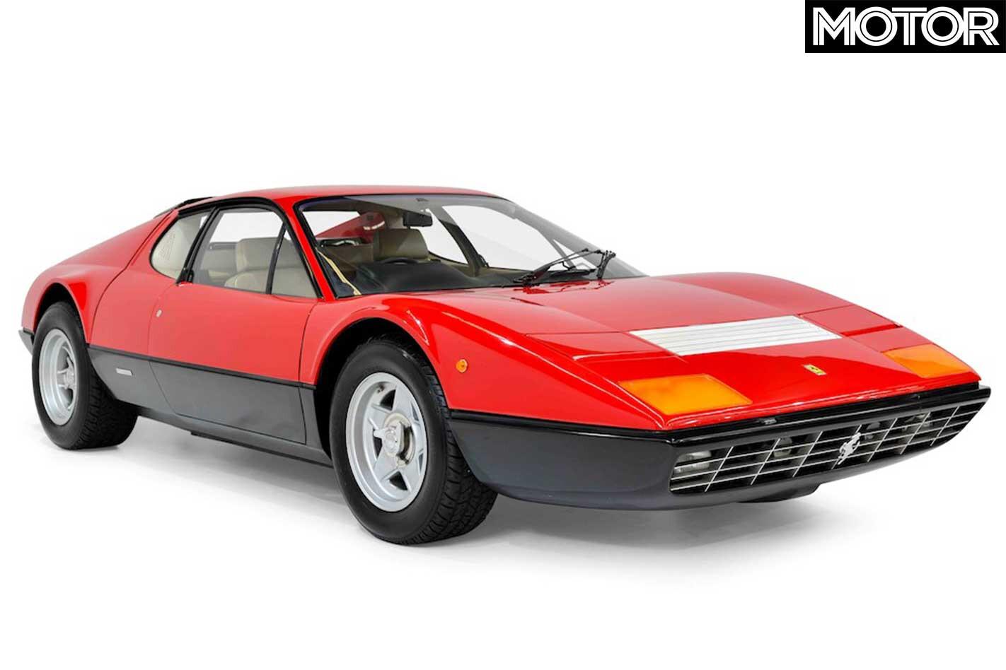 Gosford Classic Cars Auction Ferrari 365 GT 4 BB Front Jpg