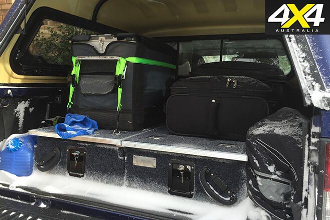 Deano's Nissan D22 Navara drawer system