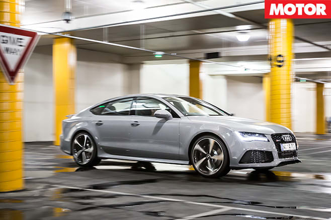 Audi rs7 front