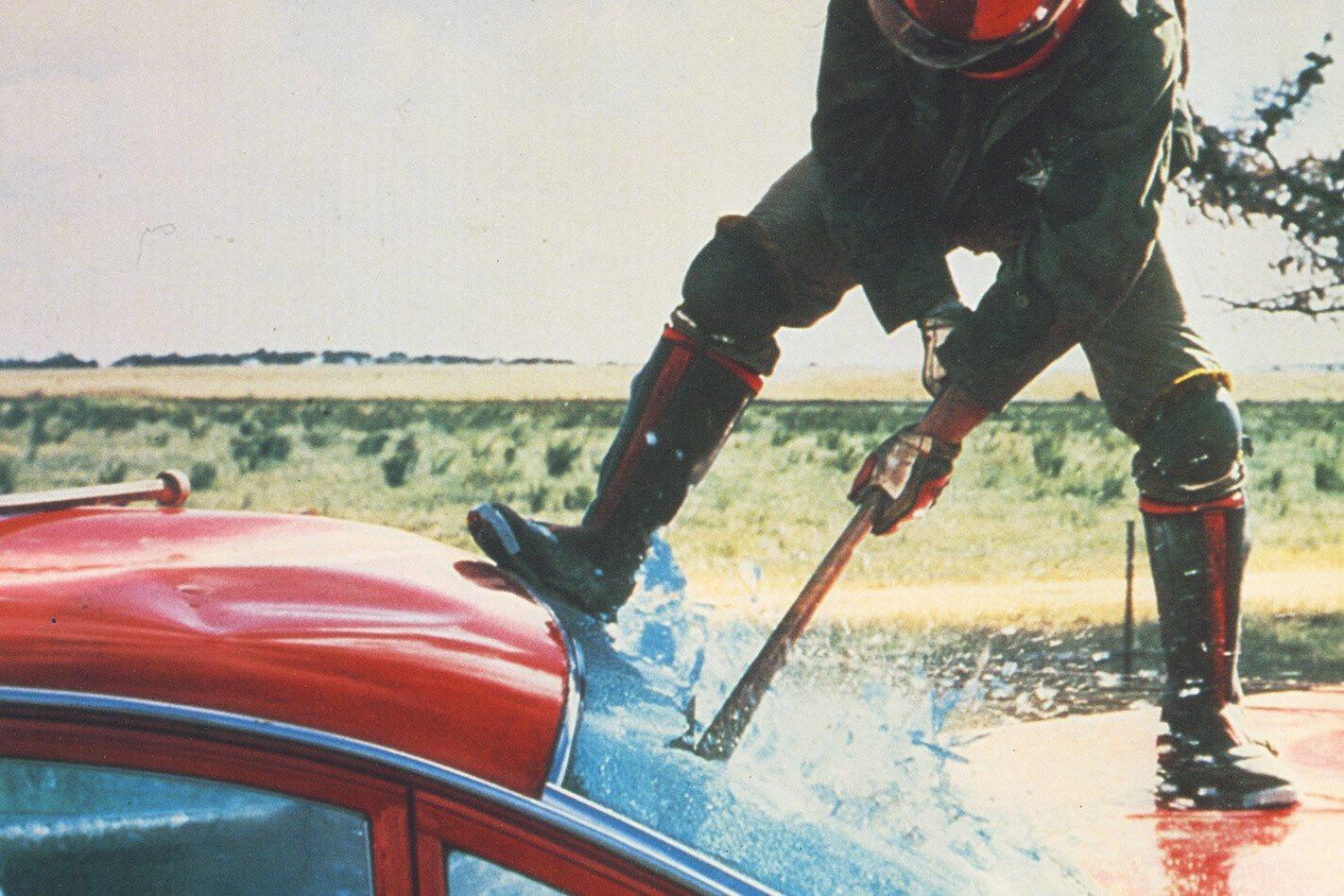 Stuntman Grant Page