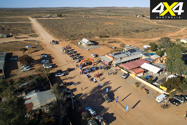Outback challenge town