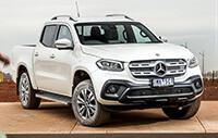 4X4 Australia Ute Mega Test 2018 - Mercedes-Benz X250d