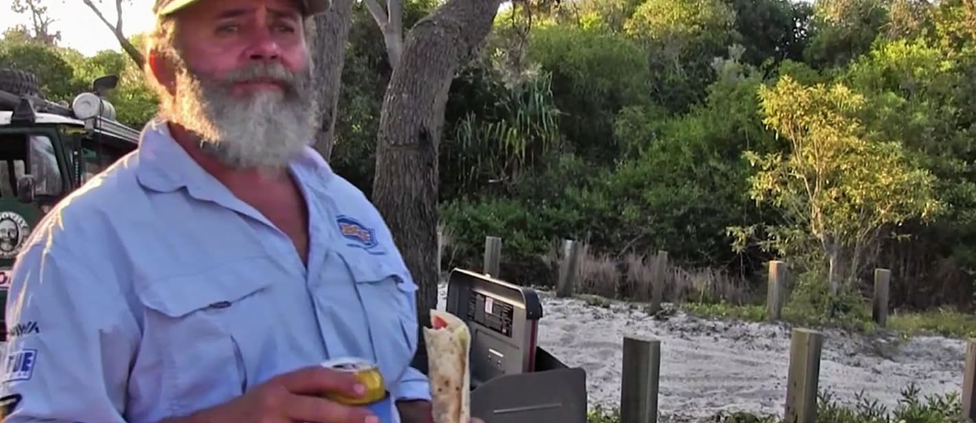 Bush Cooking with Roothy: BLT Wrap