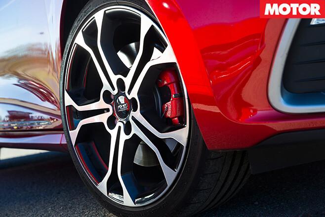 Renault sport wheel