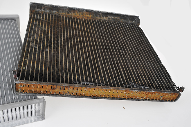 Car radiator efficiency