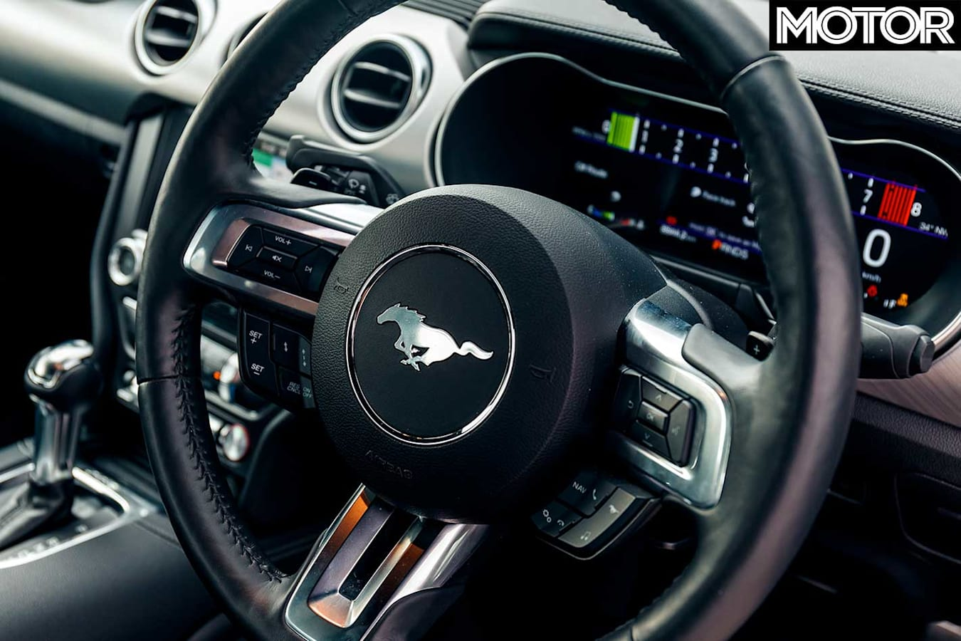 Performance Car Of The Year 2019 9th Place Ford Mustang GT Interior Jpg