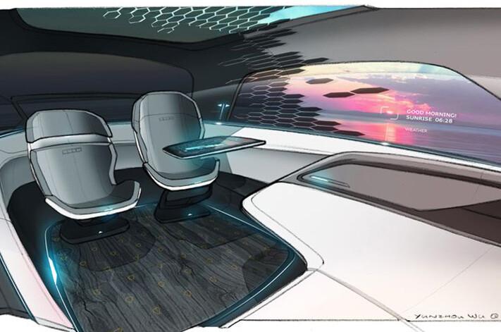 Audi Ldl Concept Interior Jpg
