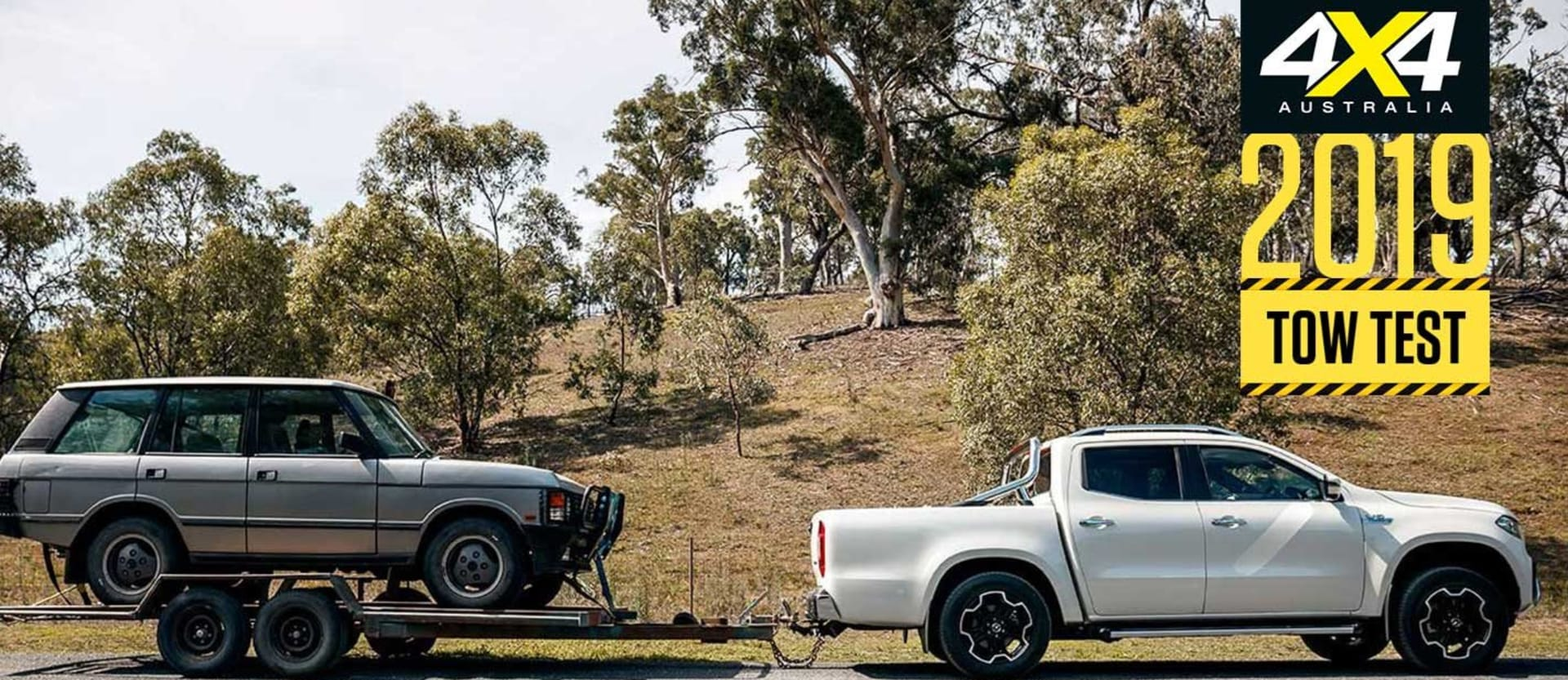 Dual-cab ute load tow test 2019 introduction