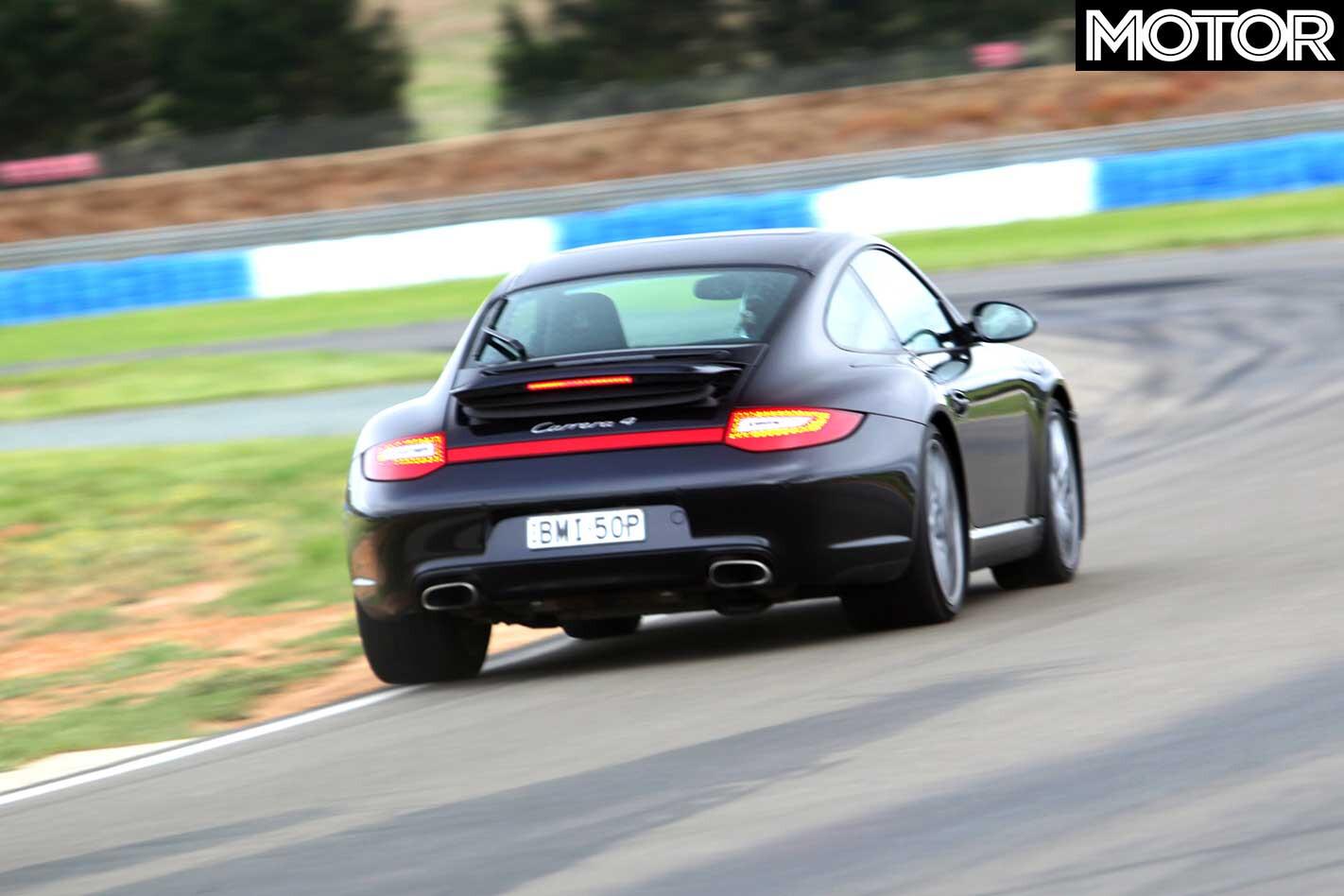 2011 Porsche 911 Carrera 4 S Track Rear Jpg