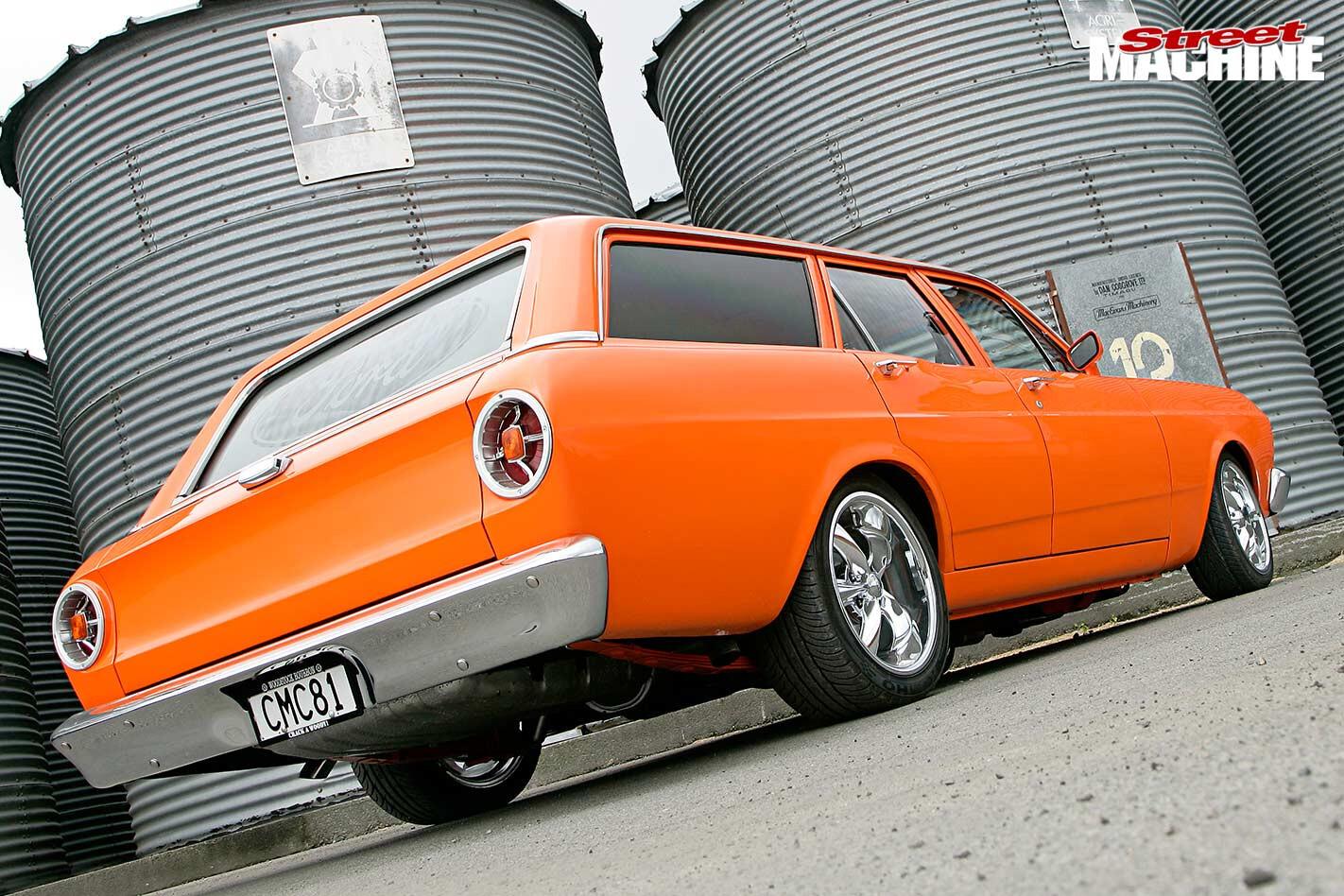 Ford XR Falcon wagon rear