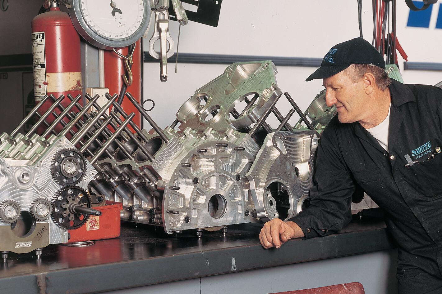 Stan Sainty Top Fuel Engine Jpg