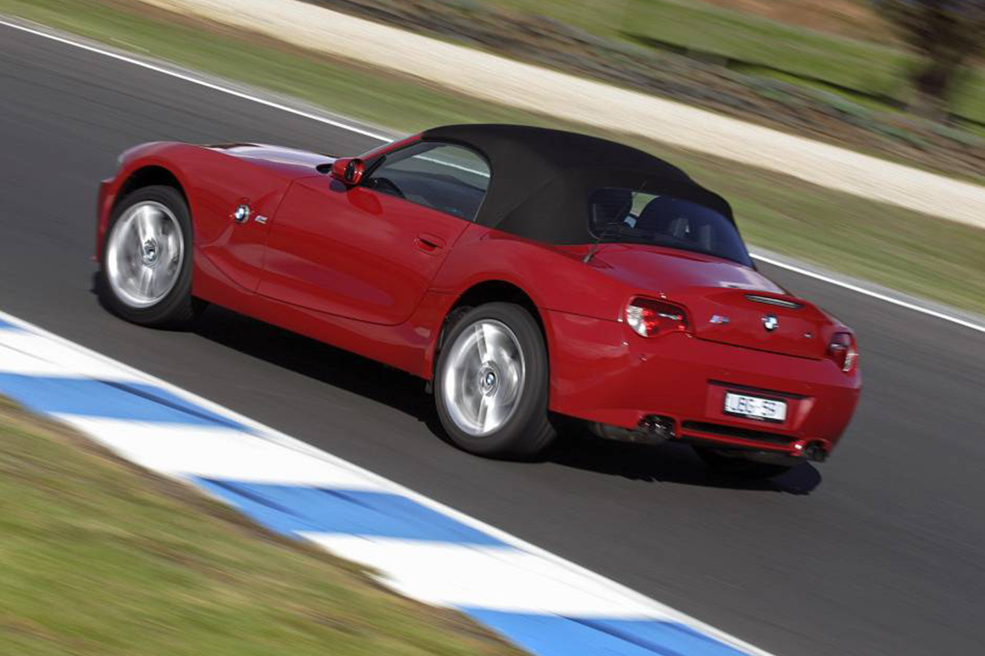 BMW Z4 M at the track
