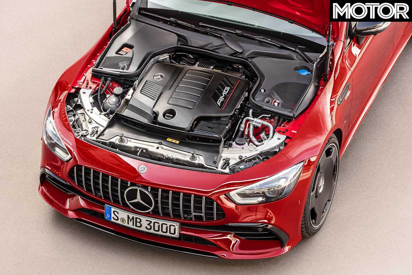 Mercedes AMG GT 43 Engine Jpg