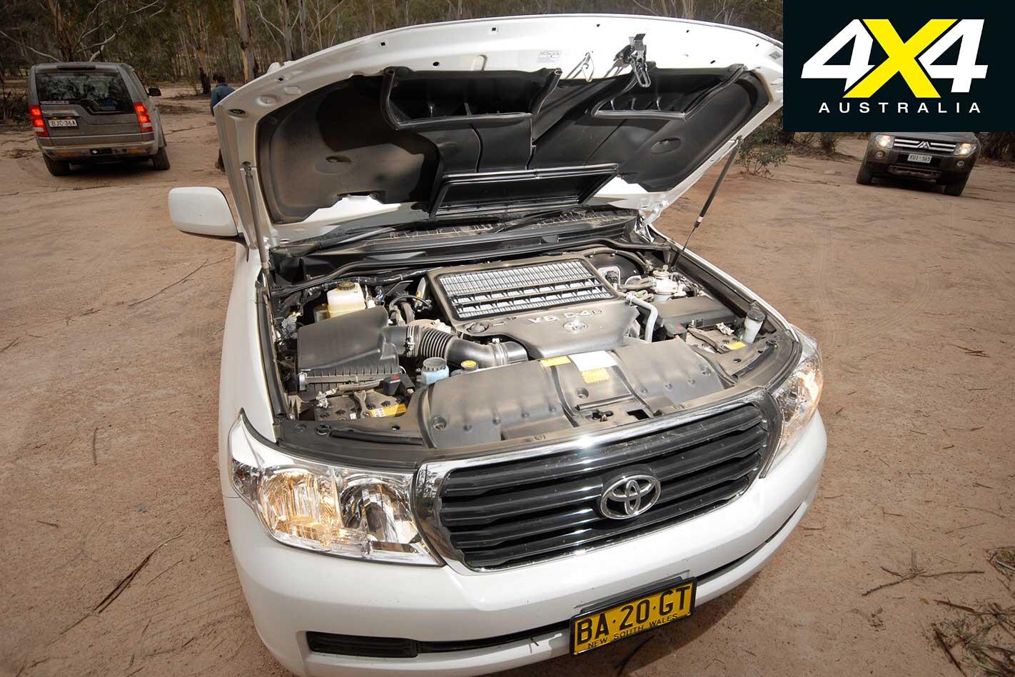 2009 Toyota Land Cruiser Engine Jpg