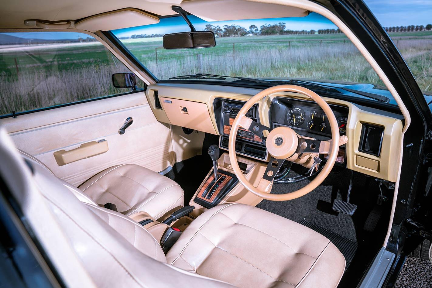 Holden UC Torana interior