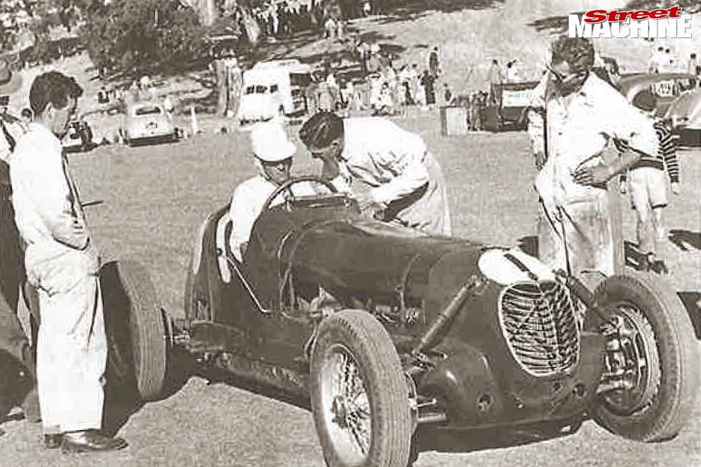 Eldred Norman Maserati 6CM