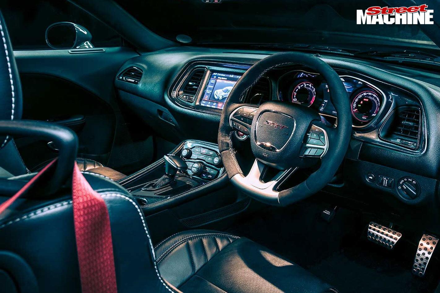 Dodge SRT interior