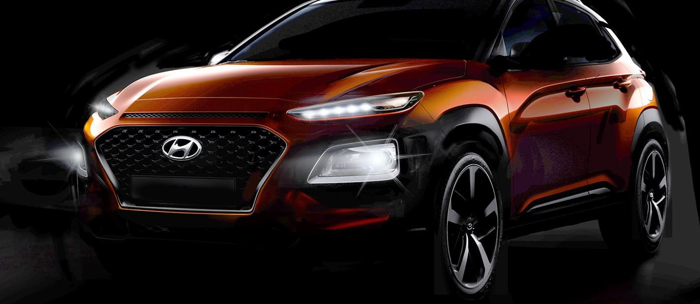 2018 Hyundai Kona breaks cover in thinly veiled teasers