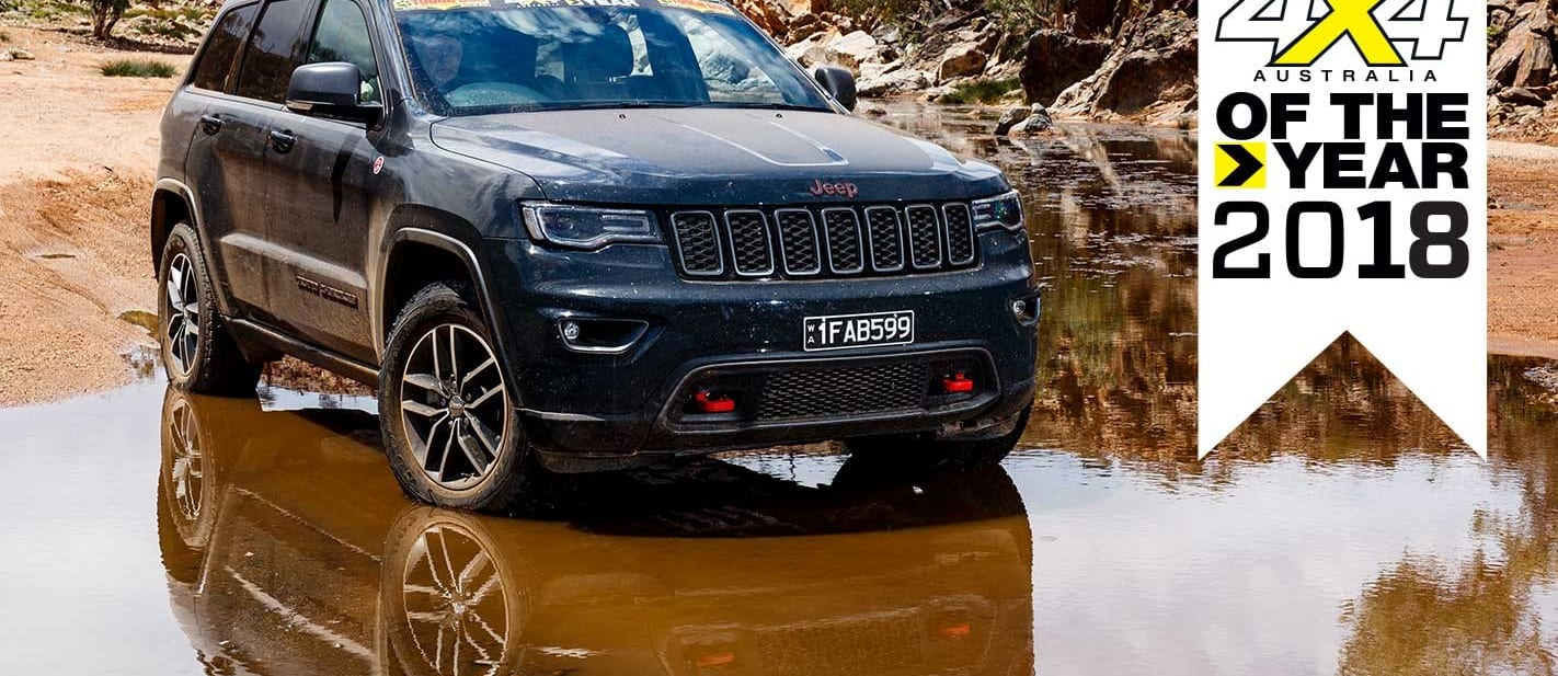4x4 of The Year 2018 3 Jeep Grand Cherokee Trailhawk feature