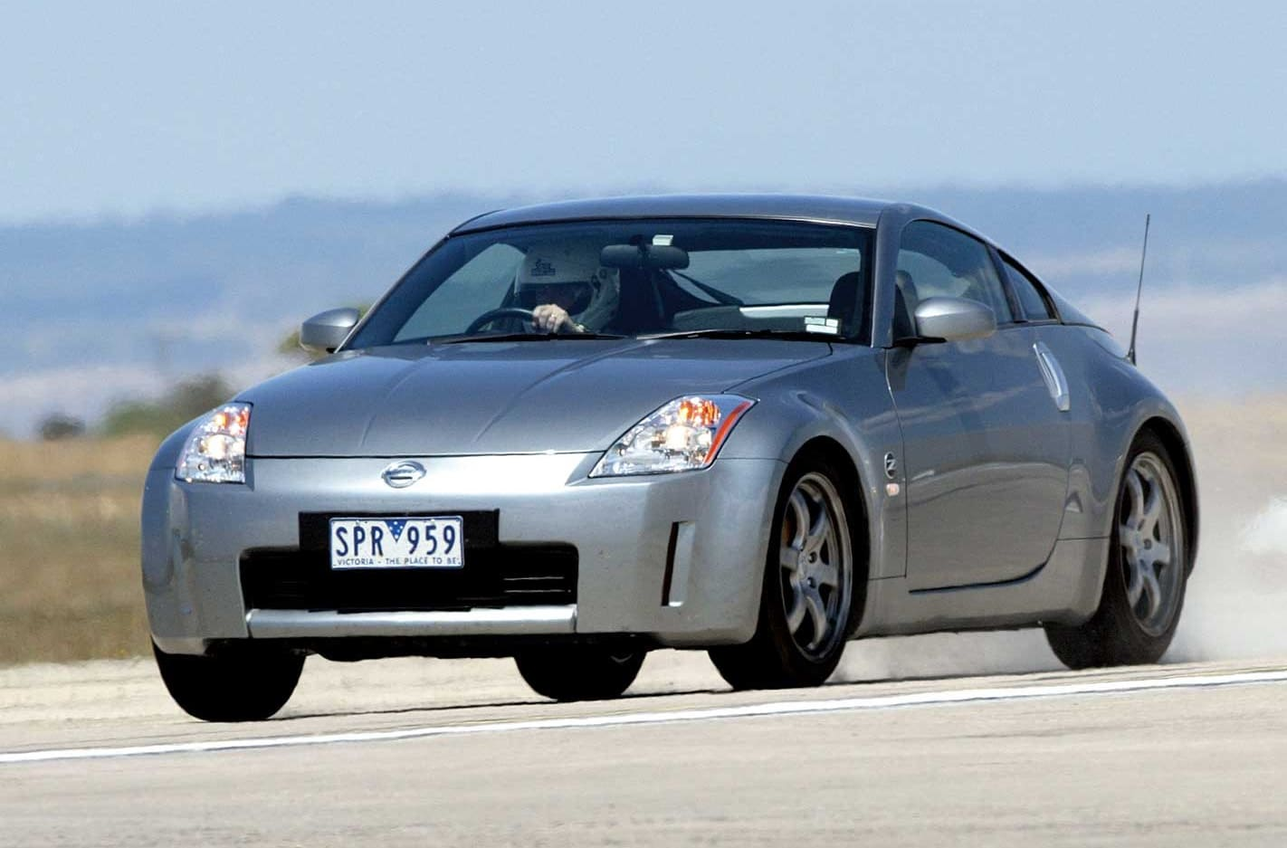 Performance Car of the Year 2004 4th place Nissan 350Z Track