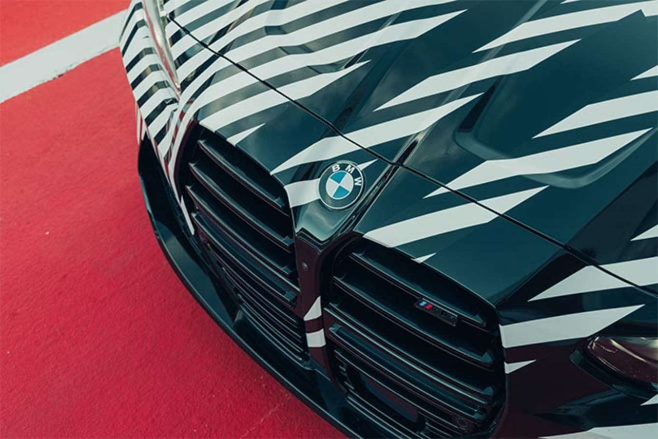 2021 BMW M4 grille