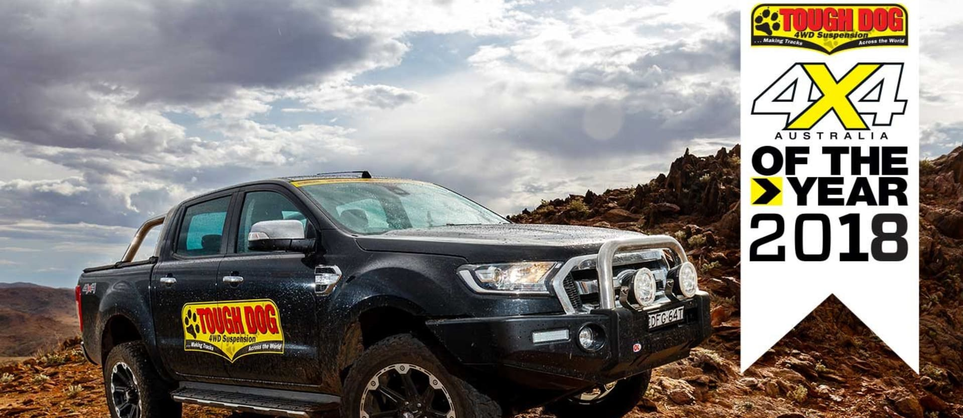 4x4 of The Year 2018 Tough Dog 4WD Suspension feature