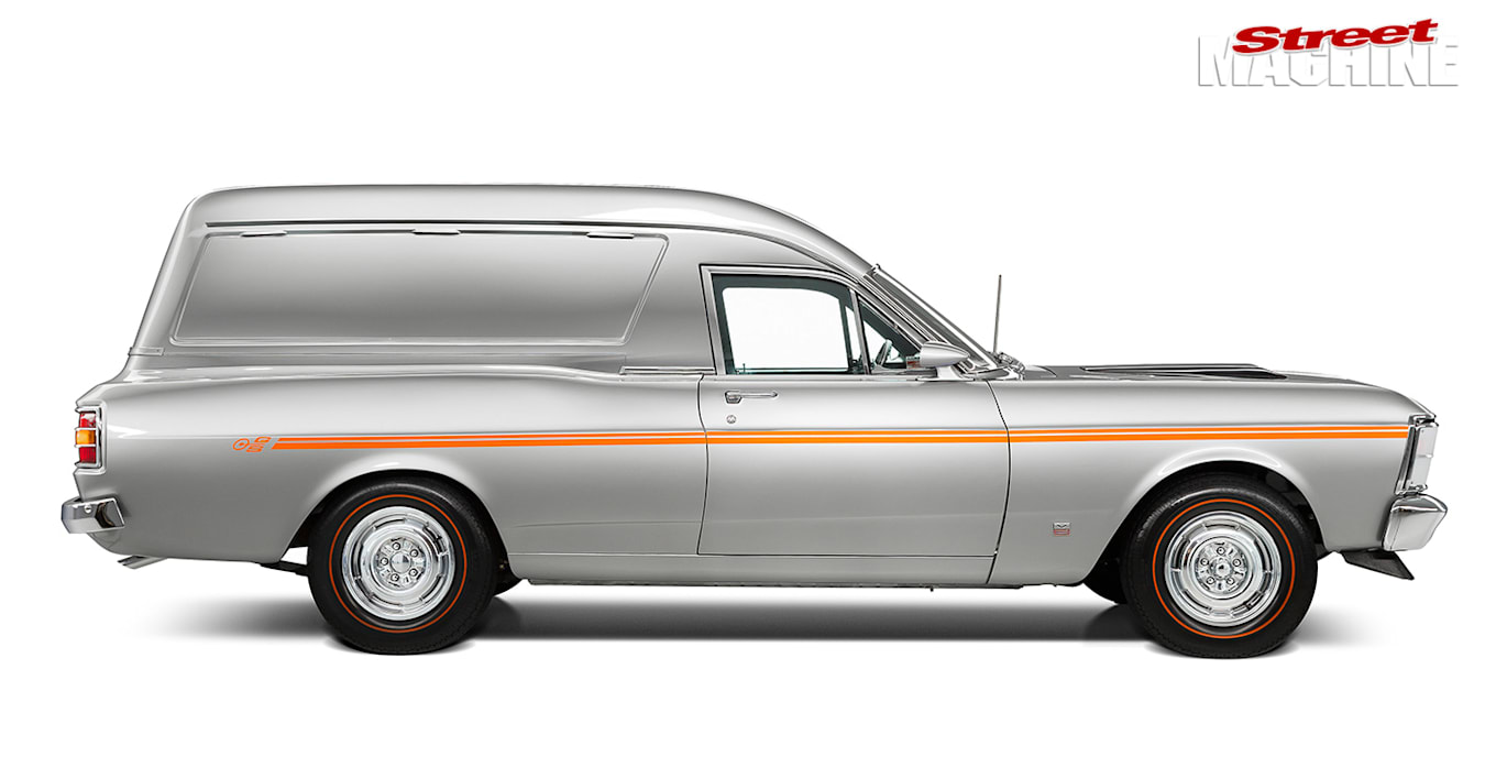 Ford Falcon XW GS van side