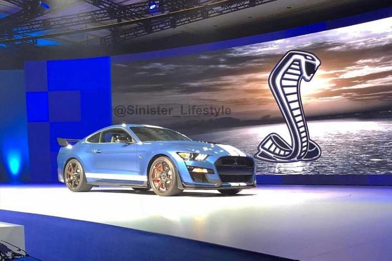 2019 Ford Mustang Shelby GT 500 Leaked Image Jpg