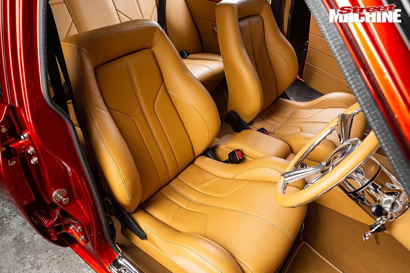 Holden Torana LH G-Pak interior