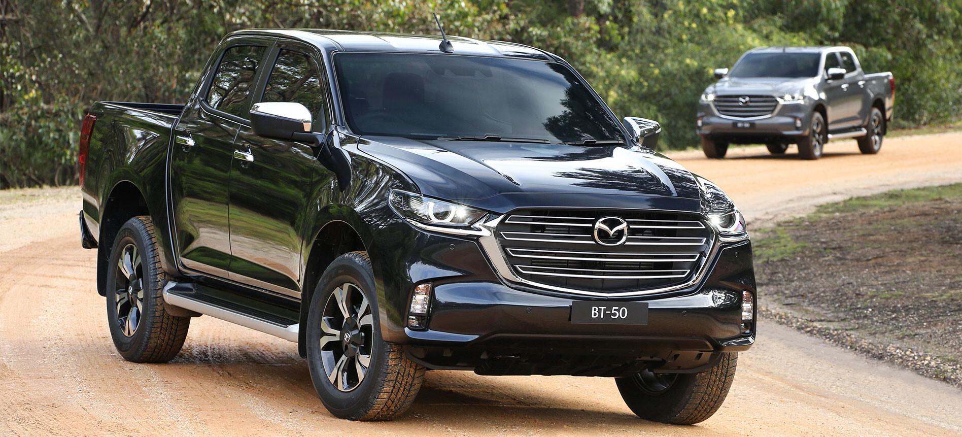 2021 Mazda BT-50 Australia
