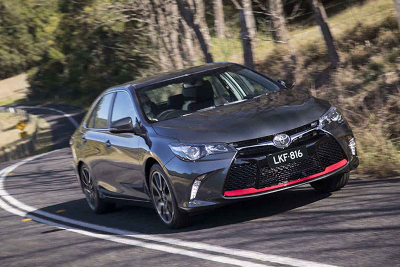 Toyota Camry front side driving