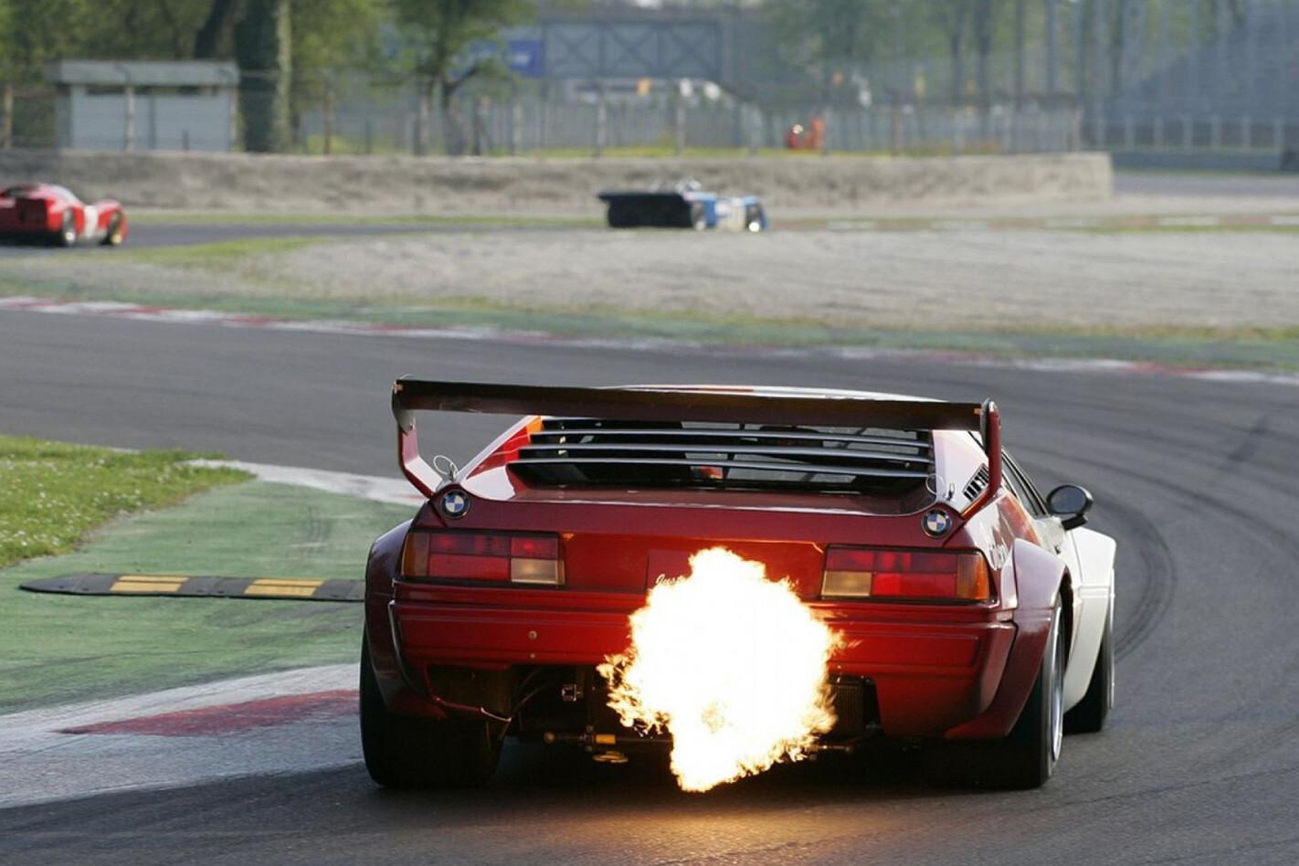 Bmw M 1 Procar Flames Jpg