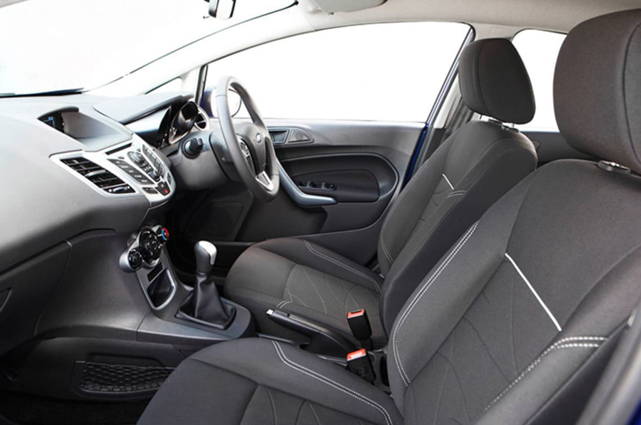 Cloth Seats Ford Fiesta Jpg