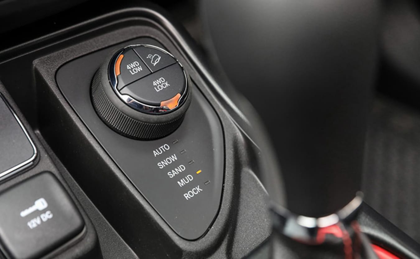 Jeep Compass 4WD selector