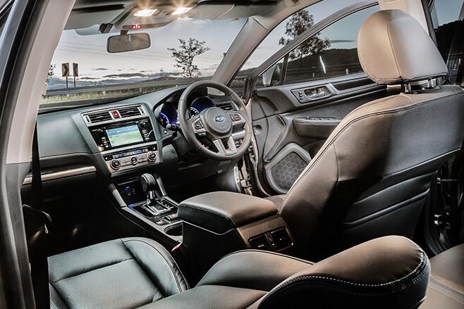 Subaru -outback -20d -interior