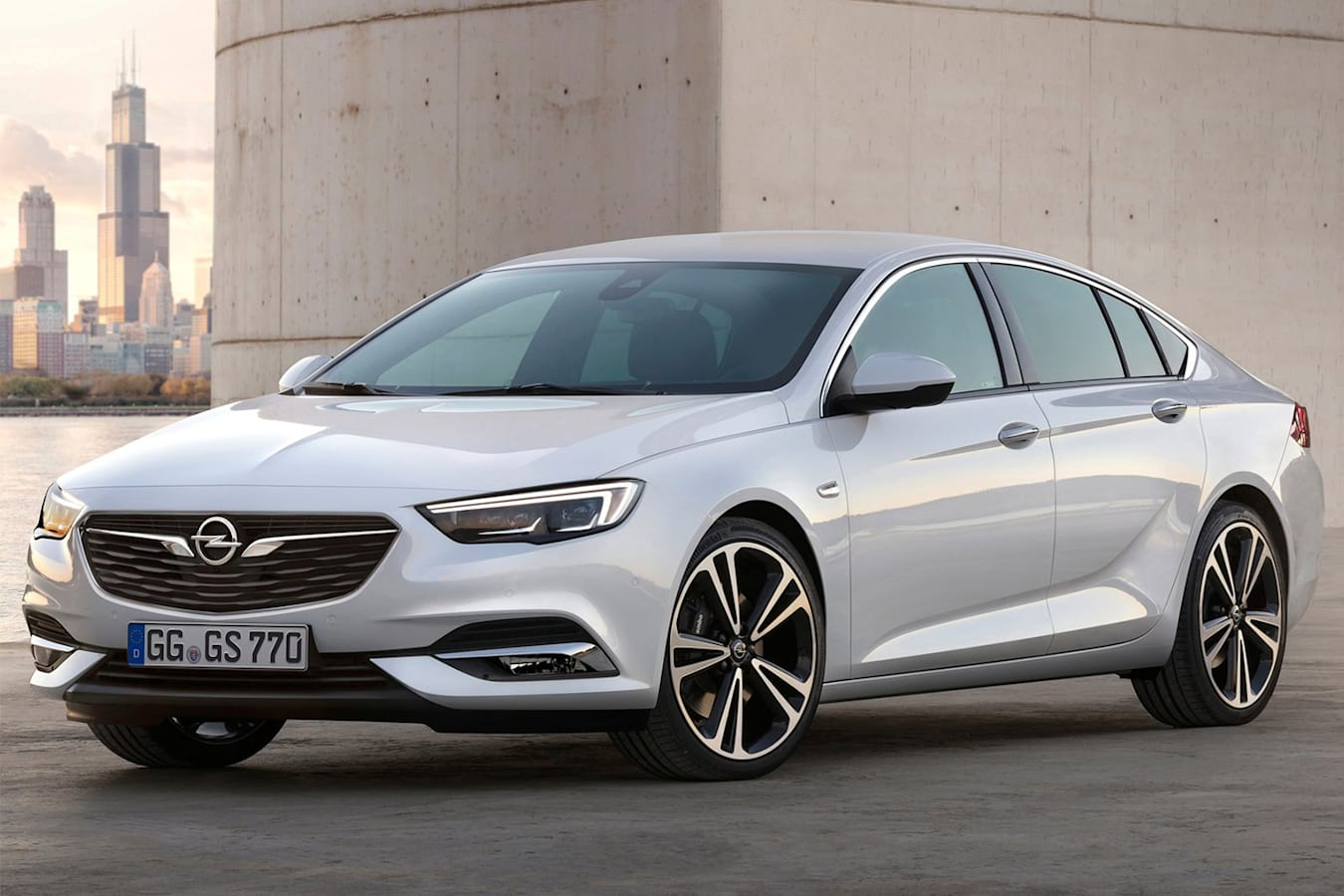 Opel Insignia Grand Sport 2017 Front Side Jpg