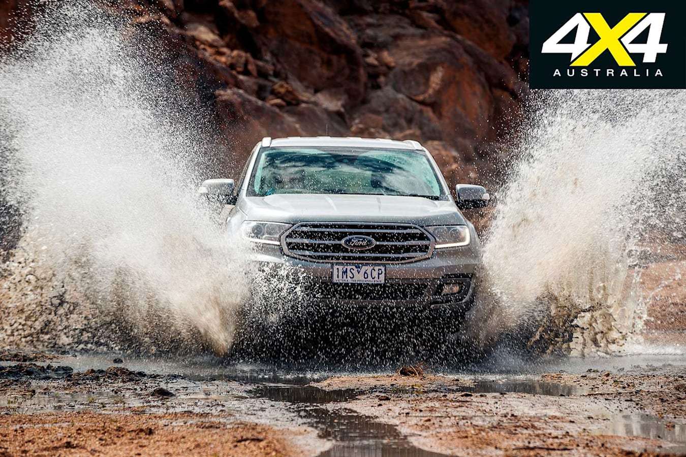 2019 4 X 4 Of The Year Ford Everest Trend Front Dynamic Jpg