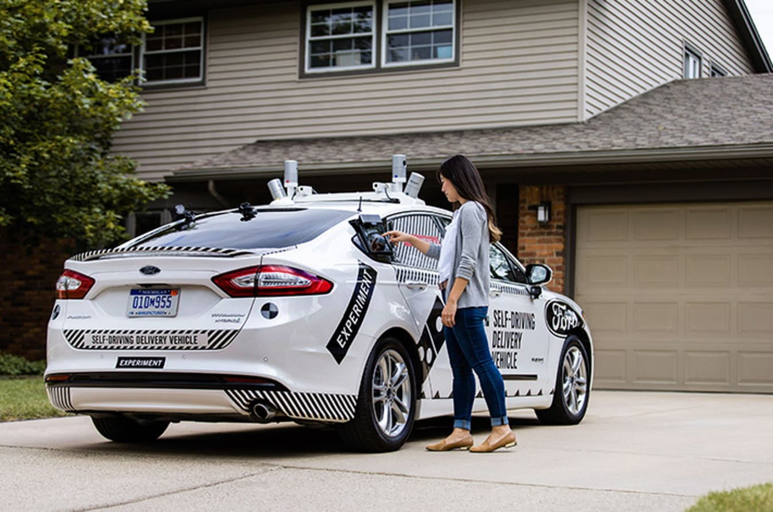 Ford Autonomous Pizza Delivery Jpg
