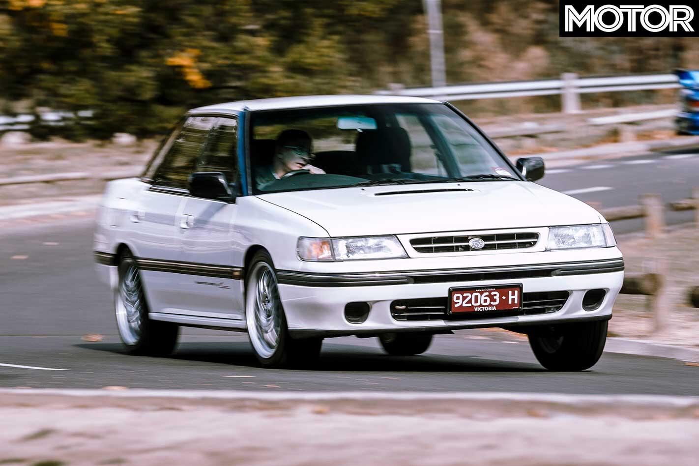 1990 Subaru Legacy RS RA Handling Jpg