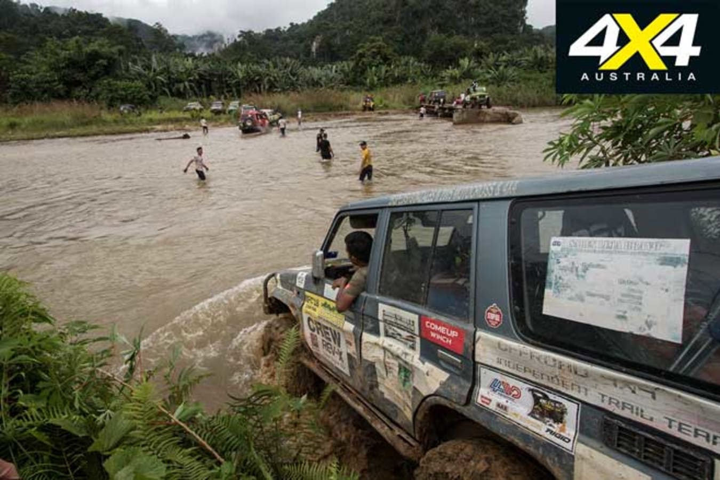 Rainforest Challenge Adventure Tour 2019 River Crossing Jpg