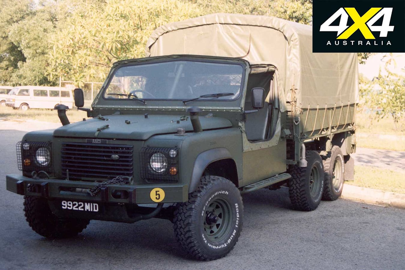 70 Years Of Land Rover 6 X 6 Military Land Rover Carrier Jpg