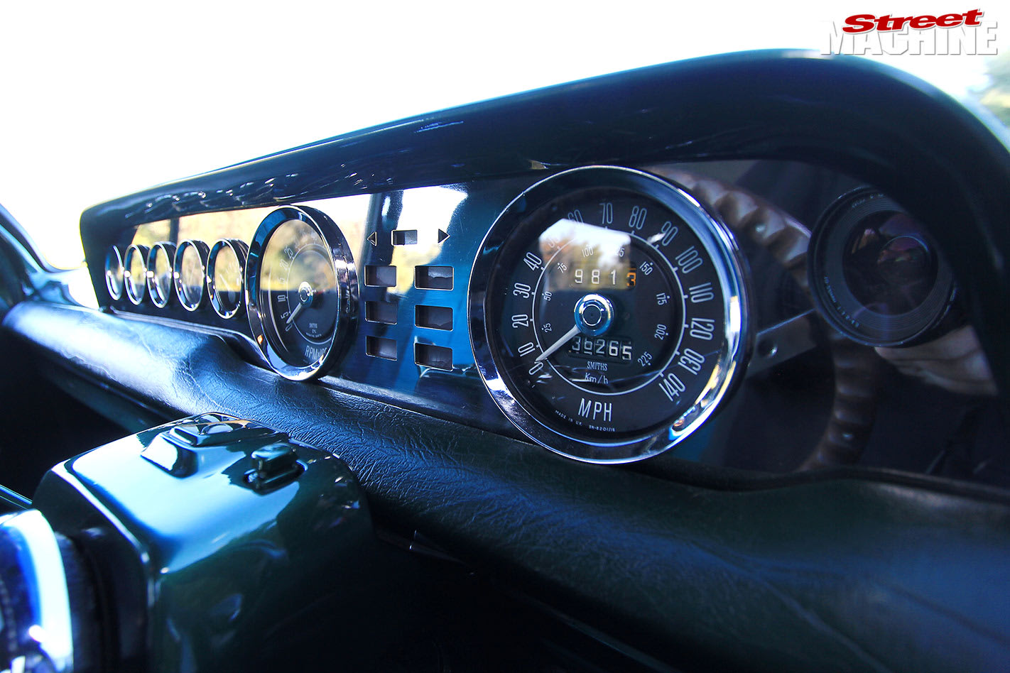 Holden EH wagon dash