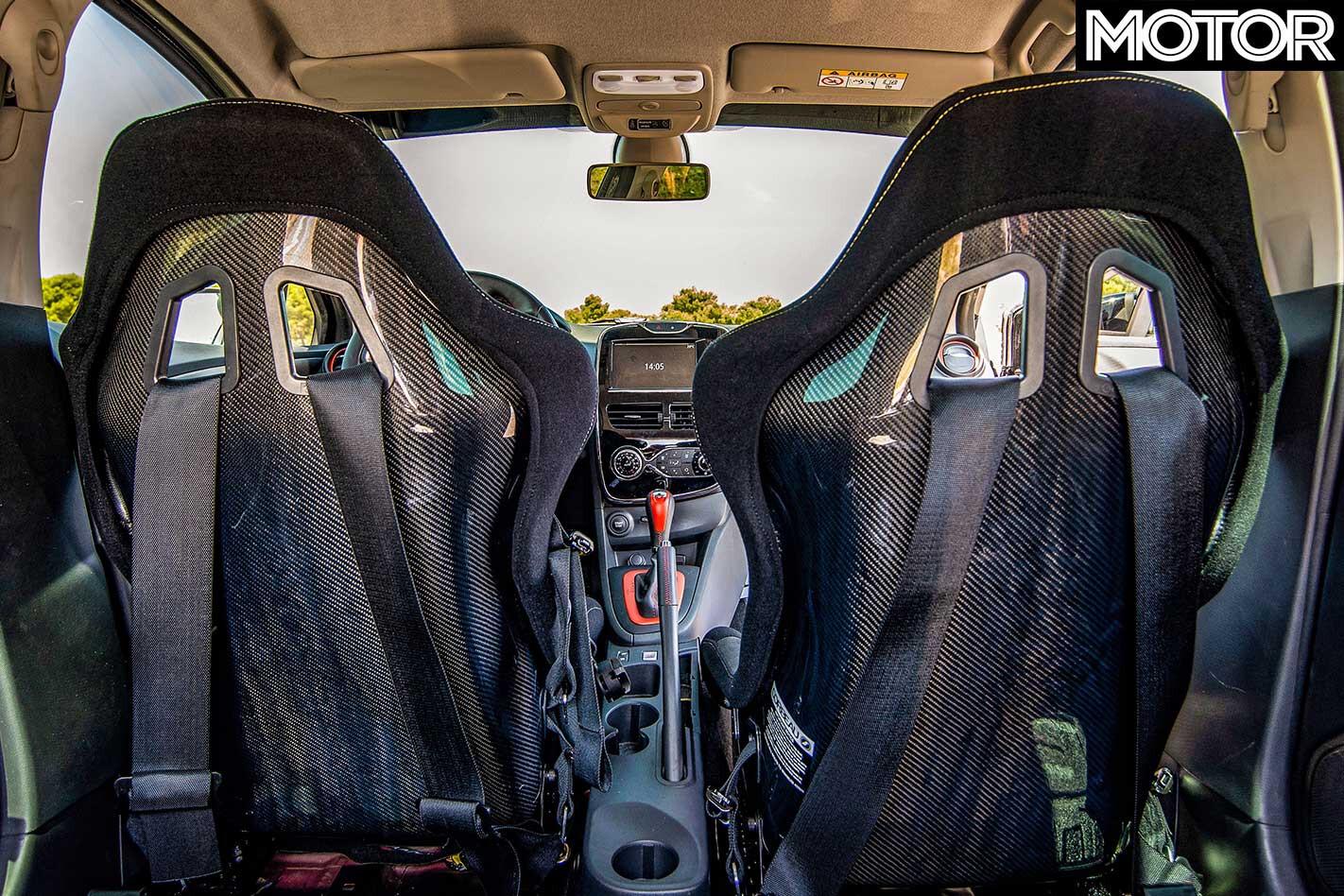 Renault Reveals RS Performance Parts Carbon Fibre Bucket Seats Jpg